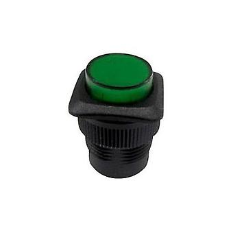 Pushbutton 250 Vac 1.5 A 1 x Off/(On) SCI R13-508AL-05GN momentary 1 pc(s)