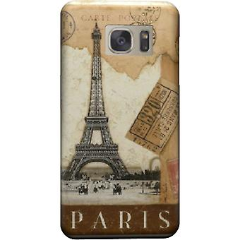 Paris old postcard stamps to cover Galaxy S7