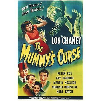 Das Mummys Fluch Movie Poster (11 x 17)