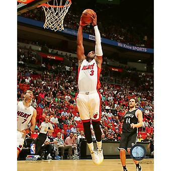 Dwyane Wade 2015-16 Action Photo Print
