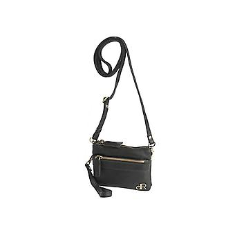 Dr Amsterdam shoulder bag/Clutch Basil Black