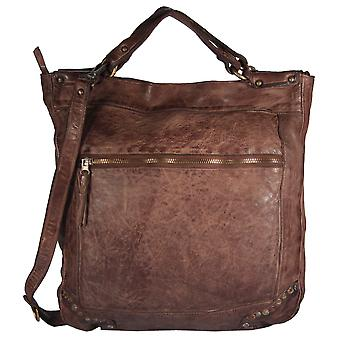 Saccarello - shoulder bag satchel bag leather case pouch form used to look URBAN