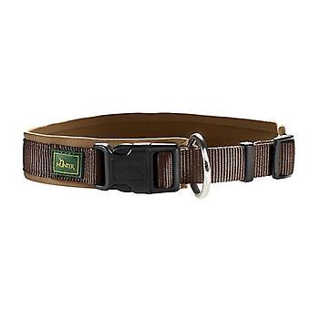 Hunter Neopren Vario Plus 30 Nylon Collar Brown/caramel 15mm X 28-30cm