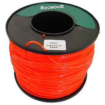 NYLON LINE 2KG X 2.70MM SQUARE LINE