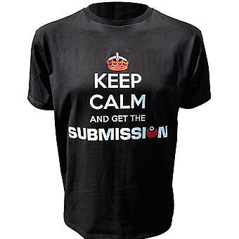 Indsendelse holde roen T-Shirt - Black