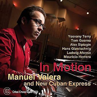 Manuel Valera & New cubanske importerer Express - i bevægelse [CD] USA