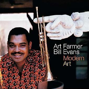 Art Farmer & Bill Evans - moderne Kunst (inkl. 9 Bonustracks) [CD] USA importieren