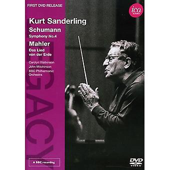 Legacy-Kurt Sanderling [DVD] USA importerer