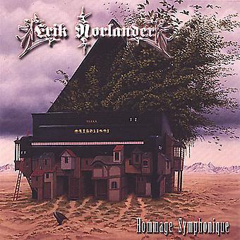 Erik Norlander - importación de Estados Unidos Hommage Symphonique [CD]