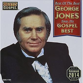 George Jones - mejor de lo mejor: importación de USA canta su evangelio mejor [CD]