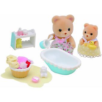 Hora del baño bebé Sylvanian Familias