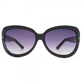 Kurt Geiger Bridget Flared Sunglasses In Black