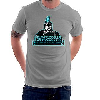 Dynamoer elektroniske butik og Voice lektioner kører mand mænd T-Shirt