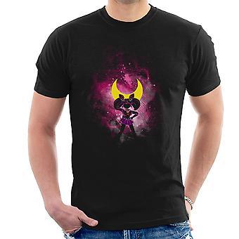 Sailor Moon Pink Luna Peace Men's T-Shirt