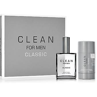 Clean For Men Classic Eau De Toilette Spray 60 ml Pack 2 Piezas 2017 (Perfumes , Packs)