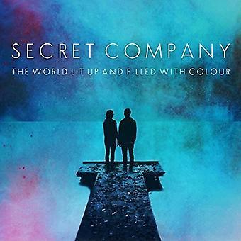Secreto de empresa - mundo encendido para arriba y lleno de importación USA de color [CD]