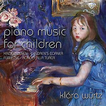 Wurtz, Klara/Prima La Musica/Vermeulen, Dirk - Piano Music for Children [CD] USA import