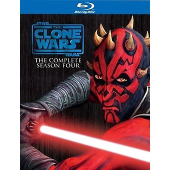 Star wars: The clone wars sesong 4 (Blu-ray)