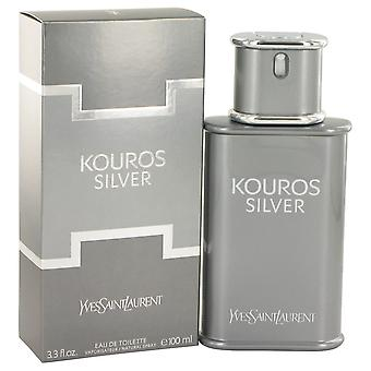 Yves Saint Laurent, Kouros zilveren Eau de Toilette 100ml EDT Spray