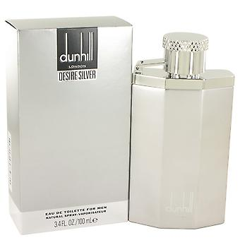 Dunhill ønske om sølv Eau de Toilette 100ml EDT Spray