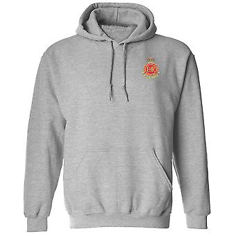 RMAS Royal Military Academy Sandhurst Embroidered Logo - Official British Army Hoodie