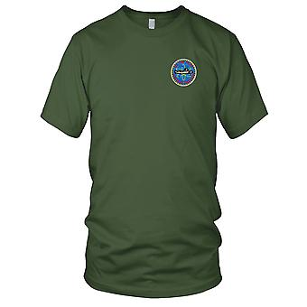 US Navy USS Tunny SSN-682 Small Version Embroidered Patch - Ladies T Shirt