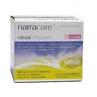 Natracare - Ultra Pads Super with Wings 12pieces