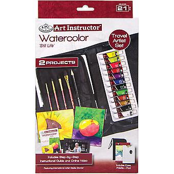 Art Instructor Watercolor Travel Set-Small - 21pc RKC305