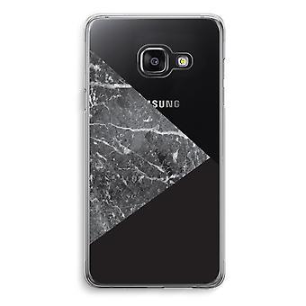 Samsung A3 (2017) Transparent Case (Soft) - Marble combination