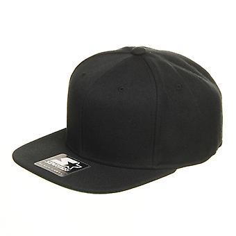 Starter Branded Snapback Cap - Black / Black