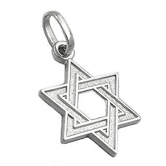 Star of david silver 925 pendant