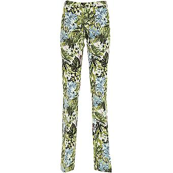 Pinko women's 1B135Z6932SZ1 green polyester pants