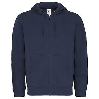 B&C Mens Hooded sweatshirt Jacket with full zip PST/Perfect Sweat Technology