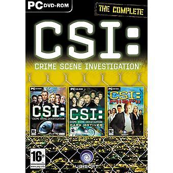 Verbrechen-Szene Untersuchung Triple Pack (PC-DVD-ROM)