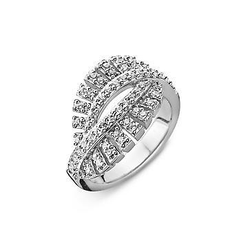 Orphelia Silber 925 Ring Luxe Bagette Zirkonium ZR-3808