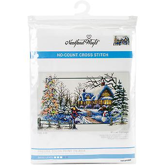 Needleart World No Count Printed Cross Stitch Kit 24