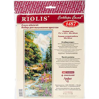 Mountain River Counted Cross Stitch Kit-8
