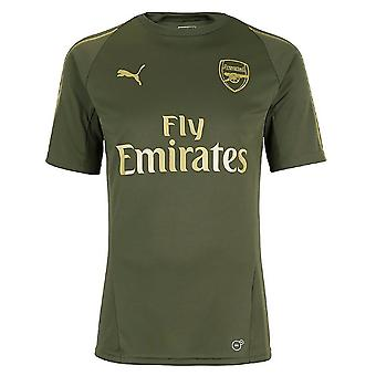 2018-2019 arsenal Puma Training Shirt (Forest Night) - Kids
