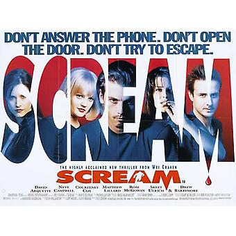 Scream Movie Poster (11 x 17)
