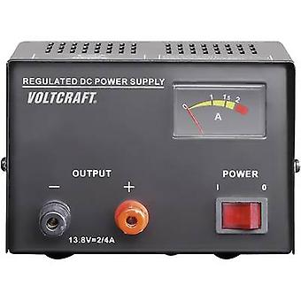 VOLTCRAFT FSP-1132 Bench PSU (fixed voltage) 13.8 Vdc 2 A 30 W No. of outputs 1 x