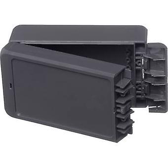 Bopla Bocube B 140806 ABS-7024 väggfäste, monteringsfäste 80 x 151 x 60 akrylnitril butadien styren grafitgrå (RAL 7024) 1 st. (s)