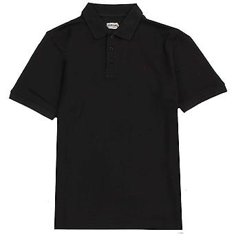 Farah Classic Cove Solid Polo Shirt - Black