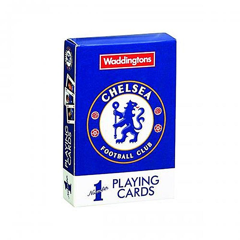 Chelsea Fc Set Of 52 Playing Cards
