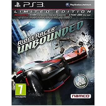 Ridge Racer Unbounded Limited Edition PS3 jeu