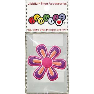nite ize chaussures crocs o-dial jibbitz charme charme jibbitz j-b-1-2118-f fleurs rose violet 90574a