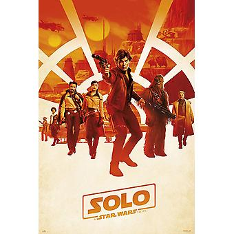 Solo: A Star Wars story poster one sheet