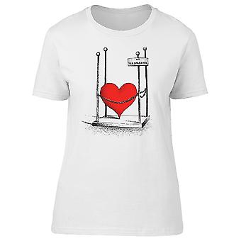 Protected Heart, No Trespassing Tee Women's -Image by Shutterstock