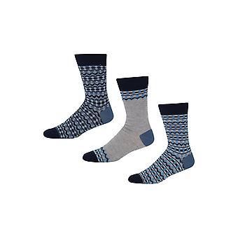 New Designer Mens Pepe Jeans Socks Bill Gift Set
