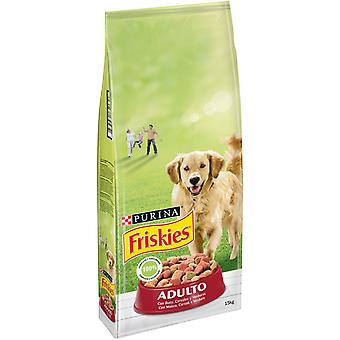 Friskies Adult Meat and Vegetables (Dogs , Dog Food , Dry Food)