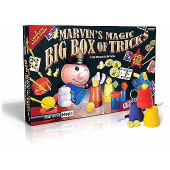 Marvins Amazing Magic Perform 225 Tricks Kids Magician Box Set Deluxe Edition